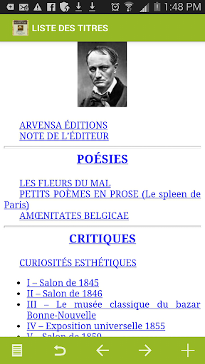 Baudelaire : Oeuvres