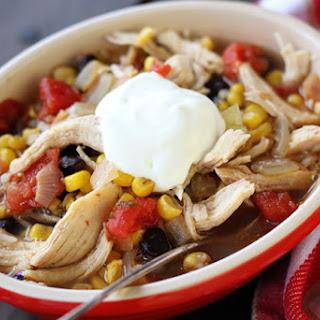 30 Minute Fiesta Chicken Soup