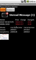 Screenshot of Gold Price Monitor / ราคา ทอง
