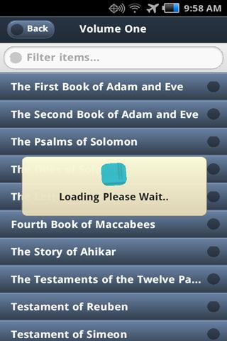 Free Forgotten Bible Books - screenshot