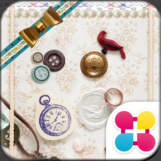 巴黎拼貼風 for[+]HOME 個人化 App LOGO-APP試玩