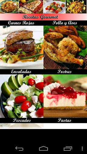 Recetas de cocina - Gourmet