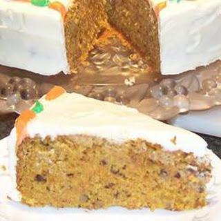 Carrot Walnut Cake.