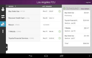 Screenshot of Los Angeles FCU (LAFCU)