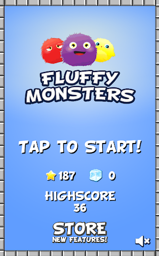 【免費街機App】Fluffy Monsters-APP點子