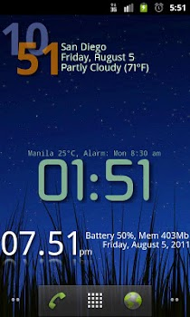 Advanced Clock Widget Pro