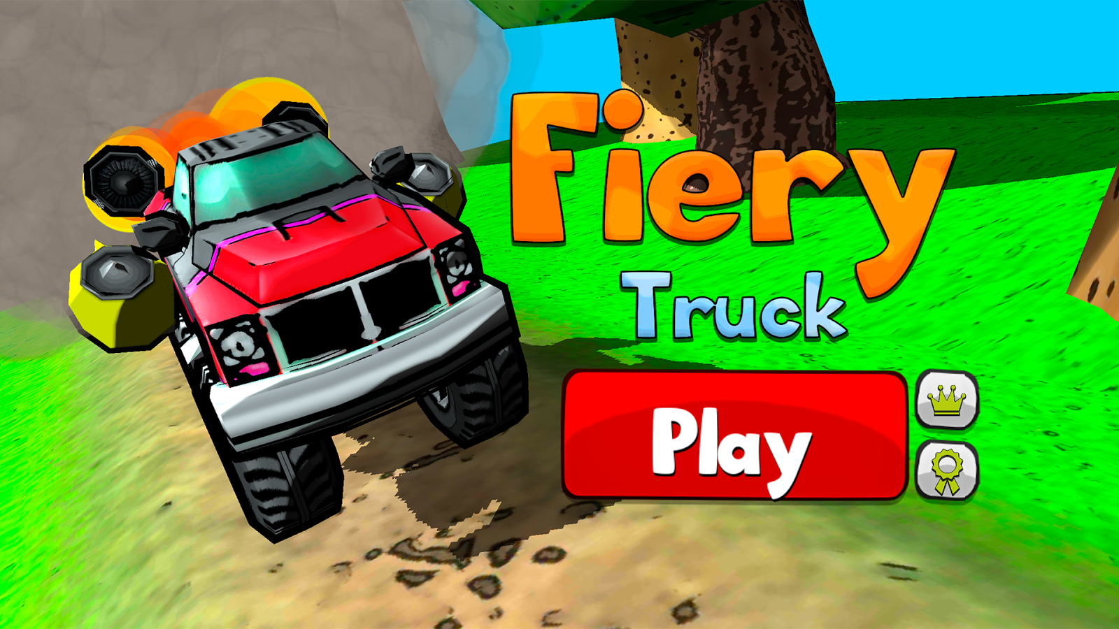 Fiery Truck - screenshot