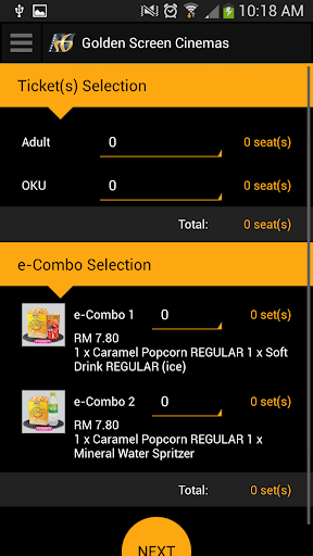 golden screen cinema 27-09-2012 same price for any show, any time and any day thanks to gsc for this privilege.