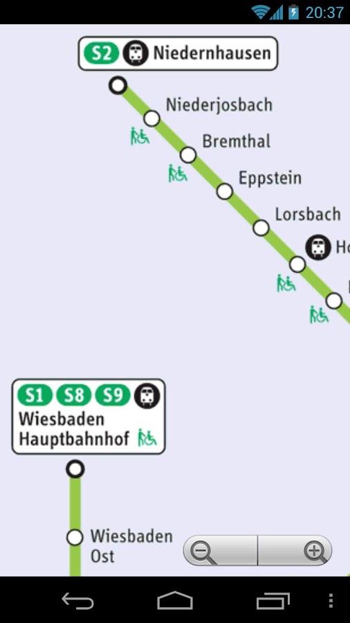 Frankfurt Transport Map Free - screenshot