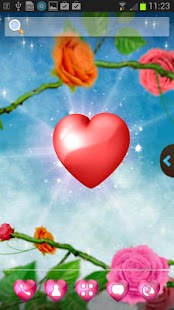 UR Love Hearts 3D Wallpapers - screenshot thumbnail