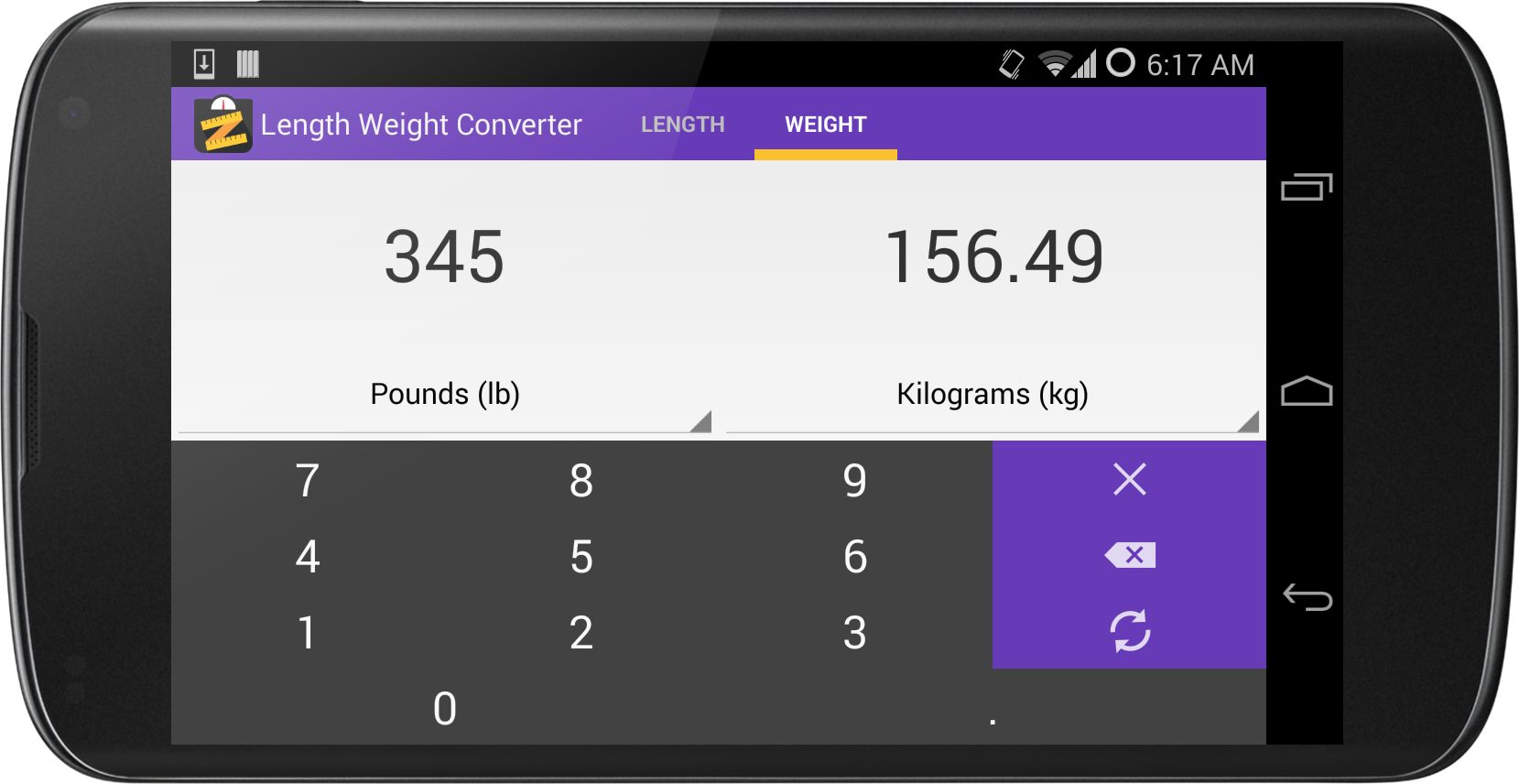 Length weight converter android apps on google play length weight converter screenshot nvjuhfo Image collections