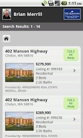 Chelan Real Estate Screenshot 3