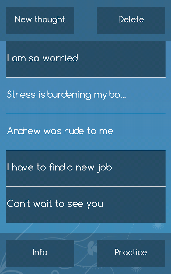 AEON Mindfulness App- screenshot