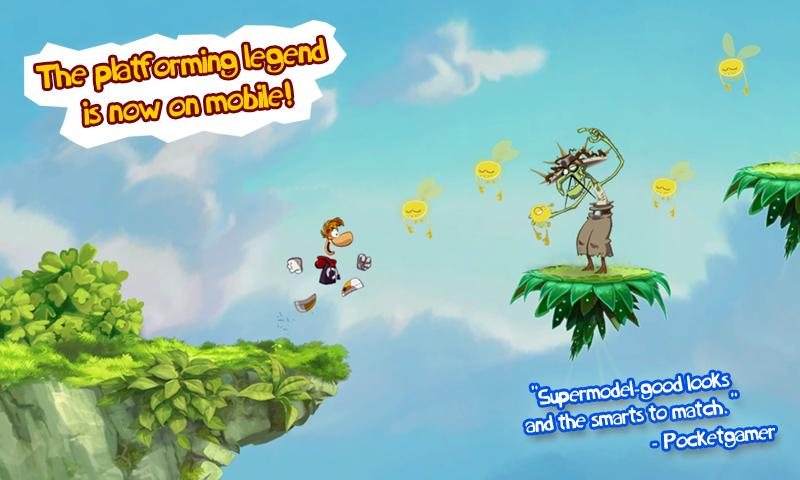 Rayman Jungle Run screenshot #2