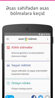 ASAN xidmət - screenshot