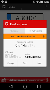 Parking in Lithuania- screenshot thumbnail