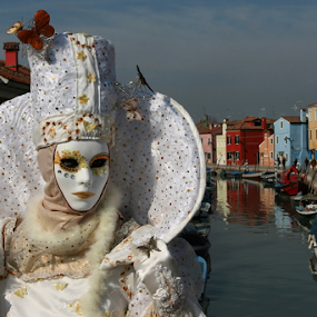 Venice Mask by Dominic Jacob - News & Events World Events ( venezia, carnival, burano, carnevale, venice, mask, venise, masque, maschere,  )