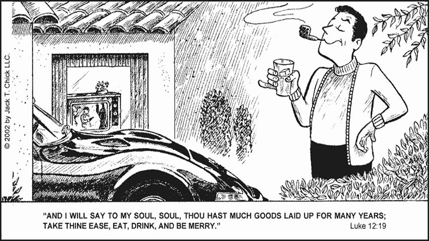 Chick Tracts - English - screenshot