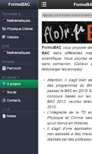 FormuBAC
