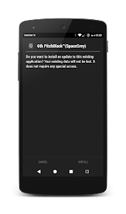PitchBlack™(S-Grey) CM12 Theme v1.4