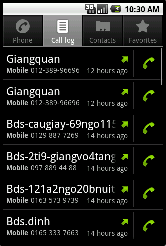 Backup SMS CallLogs Contacts