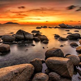 *** by Low Jian Shien - Landscapes Sunsets & Sunrises ( singkawang, landscape )