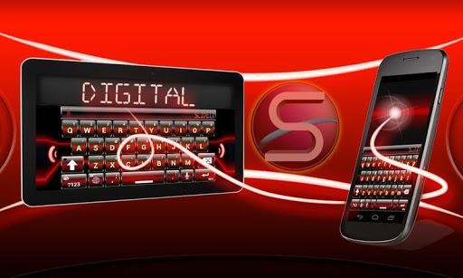 SlideIT Red Digital Skin