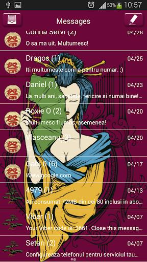免費下載娛樂APP GO SMS Proの美しい芸者 app開箱文 APP開箱王