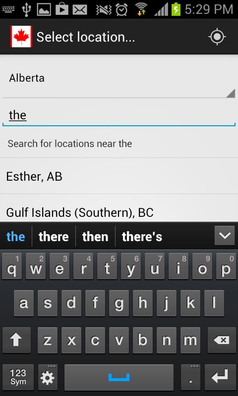 Canada Weather & Radar - screenshot