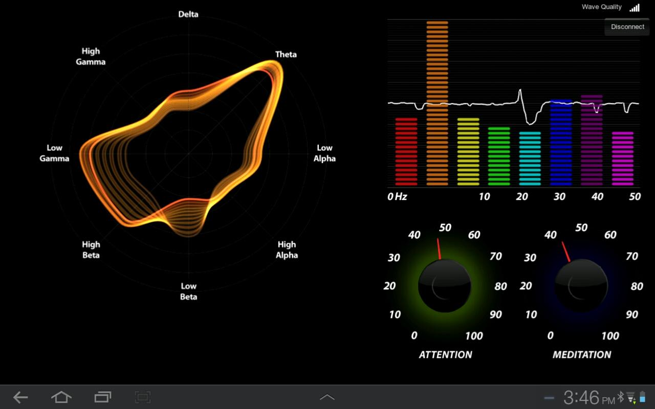 Brainwave Visualizer- screenshot