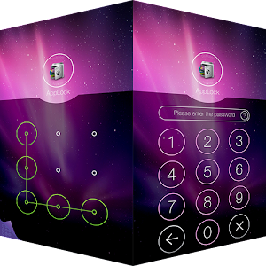 AppLock Theme Aurora for PC