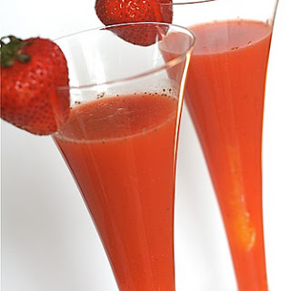 Strawberry Orange Juice