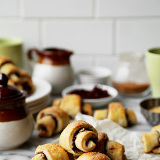 Cherry, Dark Chocolate, Cinnamon and Pecan Rugelach