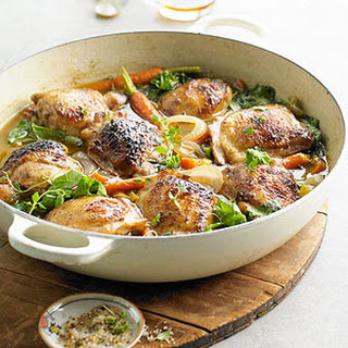 Brown Ale-Braised Chicken