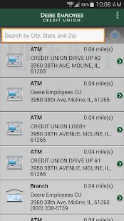 Deere Employees CU mBanking - screenshot thumbnail