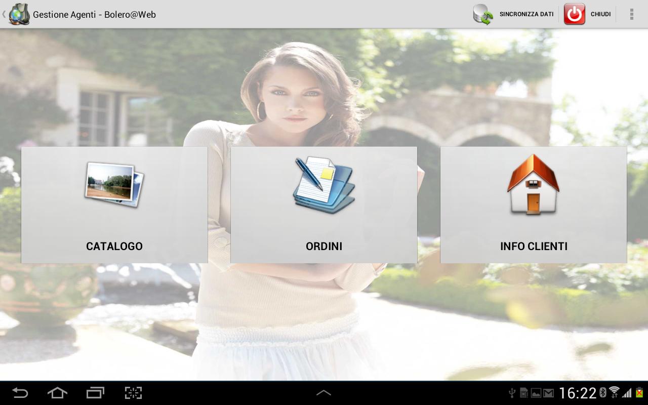 Bolero@Web - Management Agents - screenshot