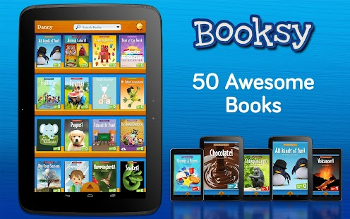 Booksy: 50 Book Library