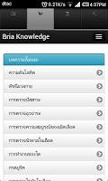 Screenshot of BRIA Mobile