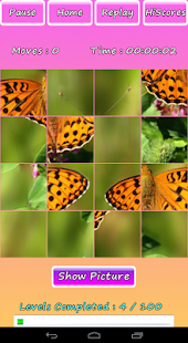 Butterfly Photo Puzzle Screenshot 14