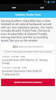 Screenshot of Street Food Toronto