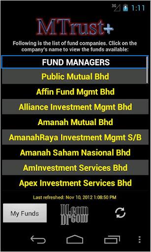 Malaysia Unit Trust