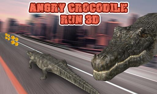 Angry Crocodile Run 3D