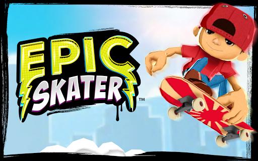 Epic Skater v1.2.0 [Unlimited Coins/Soda]