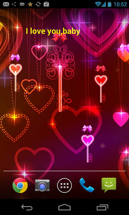 valentines day live wallpaper screenshot - Live Valentine Wallpaper