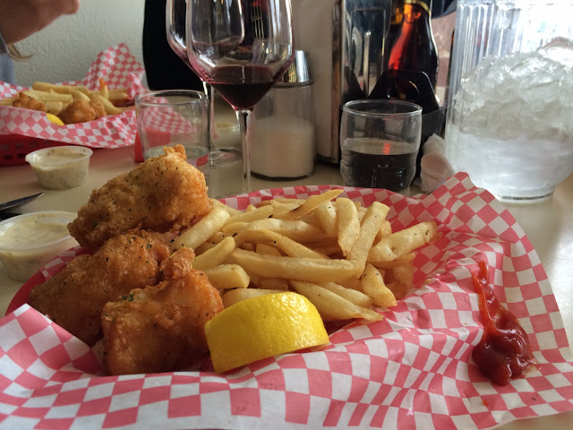 GF Fish & Chips with FF! So good we are here twice & absolutely awesome food both times!