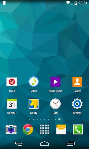 KK Launcher Galaxy S6 Theme