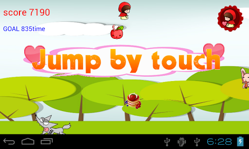 Jump Little Red Kids Game