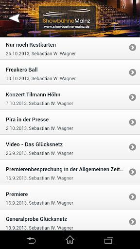 【免費娛樂App】Showbühne Mainz-APP點子