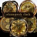 スチームパンク目覚まし時計ウィジェットパック icon