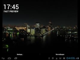 Screenshot of Tokyo LIVE Wallpaper (Demo)